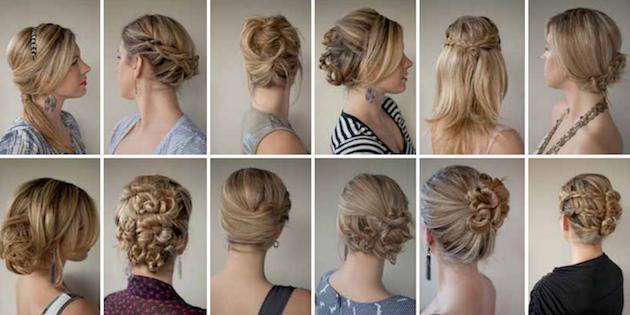 легкие красивые прически на длинные волосы