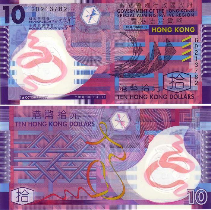 гонконгский доллар