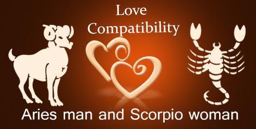 Скорпион овен секс