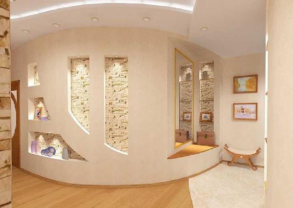 drywall shelves
