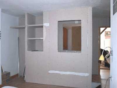 how to make a shelf of drywall do it yourself