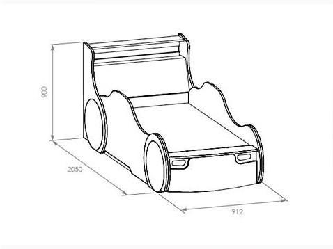 детские кровати машины своими руками чертежи