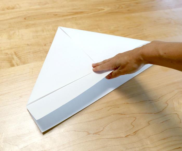 Как сделать нож из бумаги своими руками