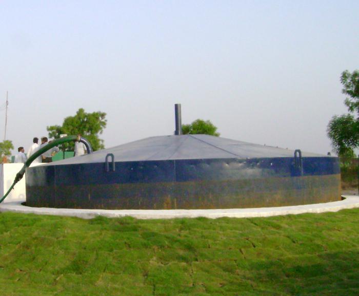 биогазовая установка своими руками для дома на перепелином помете