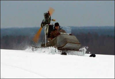 snow chainsaw do-it-yourself