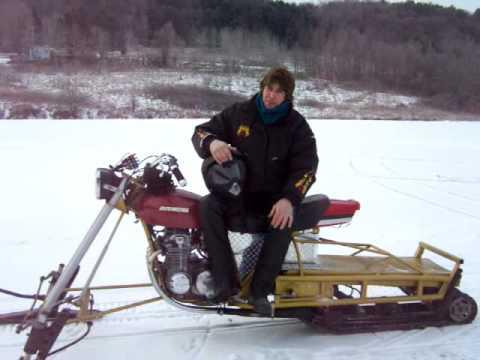 how to make a snowmobile do-it-yourself