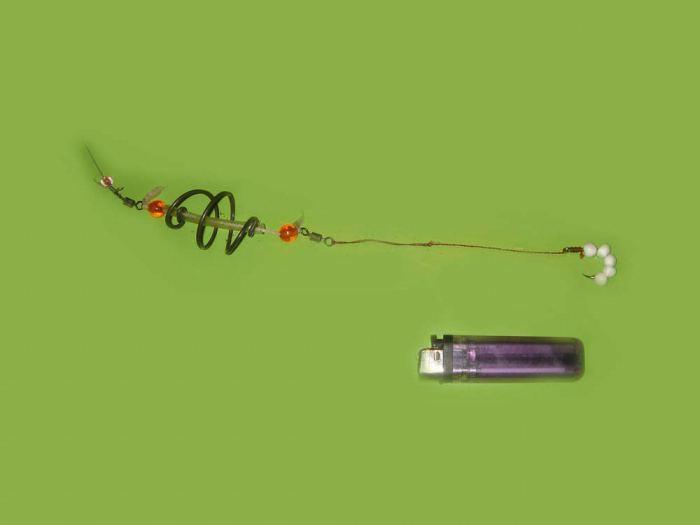 поплавочная снасть для ловли толстолобика на технопланктон