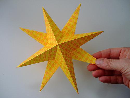 Как сделать звездочку из бумаги? Мастер-класс :: SYL.ru