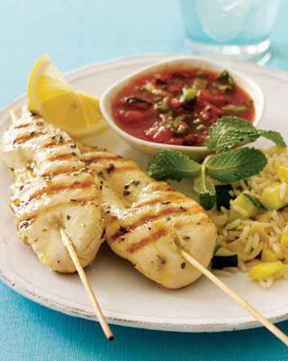 chicken kebab. marinade recipes