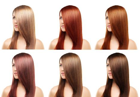капус палитра цветов фото на волосах