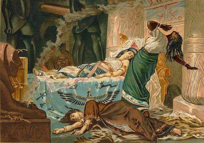 a history of octavian victor of antony in egypt