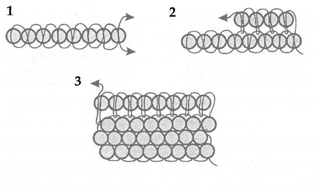 Кирпичная схема бисероплетения