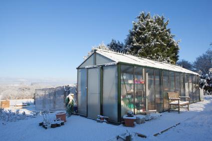 winter heated greenhouse