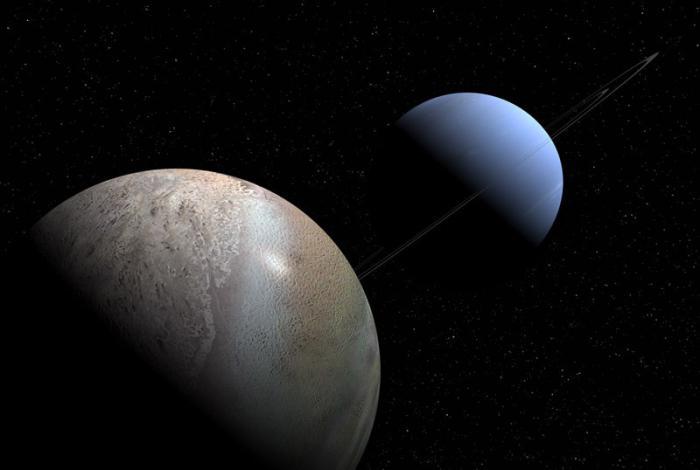Neptune's satellite