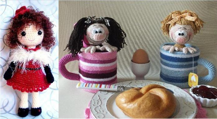 Вязаные куклы описание схемы