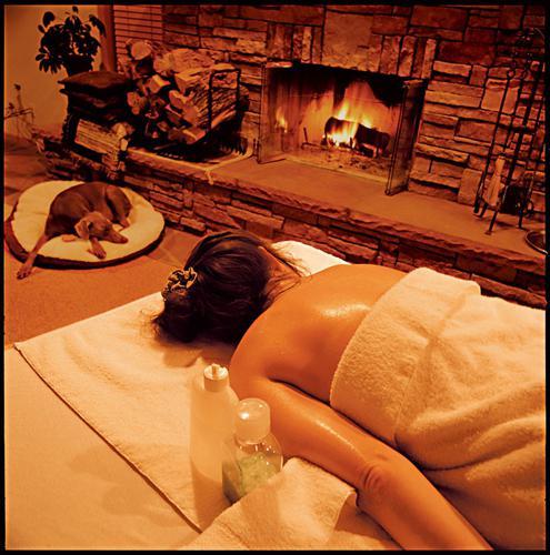 back massage at home