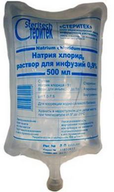 раствор хлористого натрия