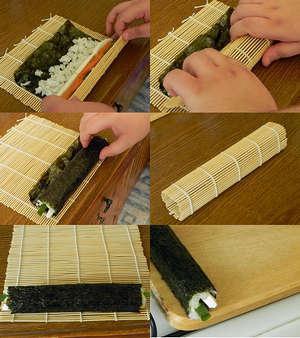 Фото приготовить запечённые инструкция дома пошаговая суши