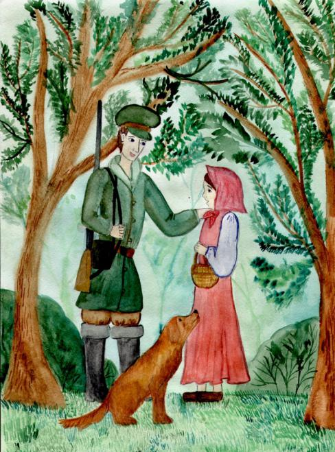 Иллюстрации к барышне крестьянке