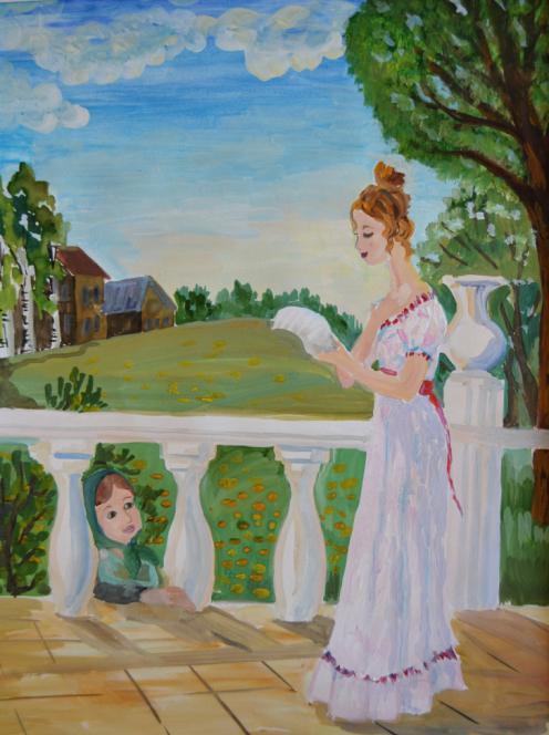 картинки к повести барышня крестьянка пушкина карандашом существующему мнению