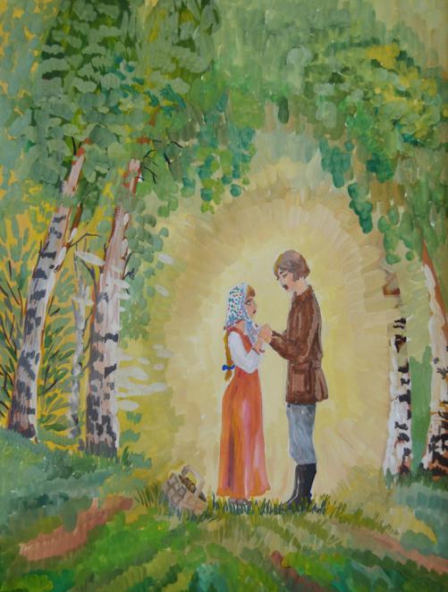 Картинки к рассказу барышня-крестьянка