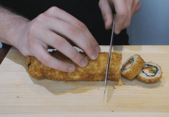 рецепт горячих роллов в домашних условиях