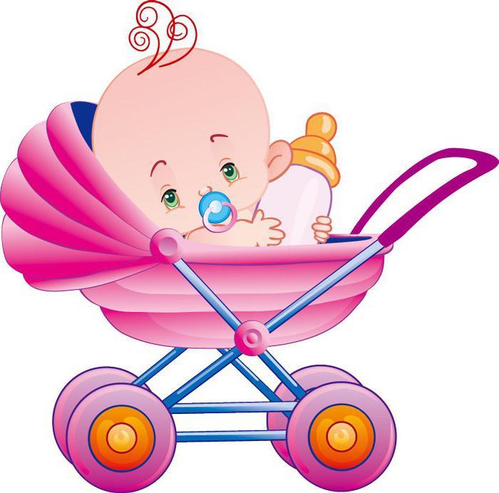 Коляска на рождение ребенка
