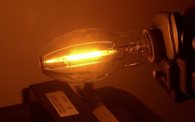 sodium lamps