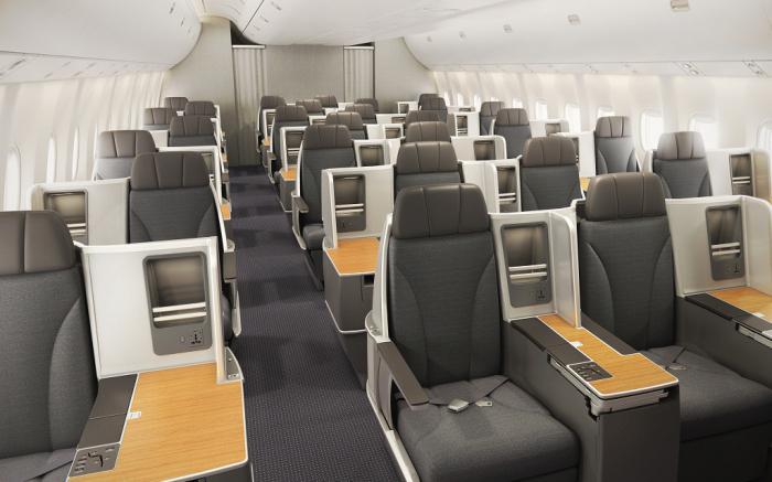 Salon Boeing 767 300