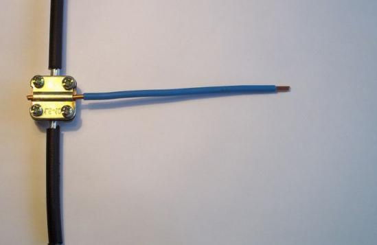 Wire and cable connection