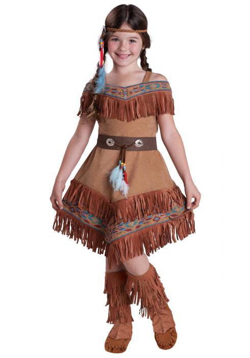 Как сделать костюм индейца своими рук