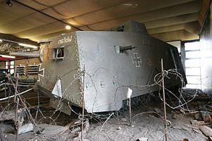 WWI tanks photo