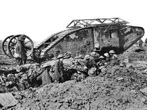 first tanks of the first world war