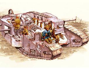World War I tanks