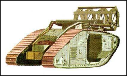 first tanks in the first world war