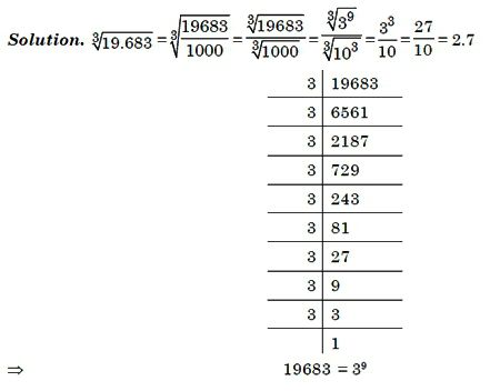 calculate cubic root