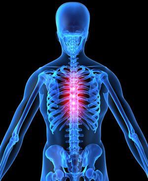 Остеохондроз может привести к потери веса