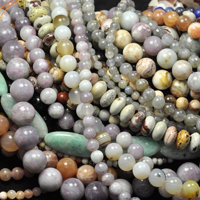 формы бусин из натуральных камней