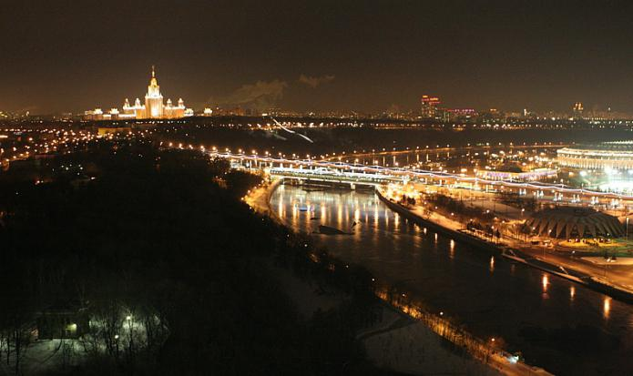 Moscow Sparrow Hills Observation Deck