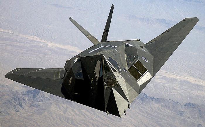 стелс самолет