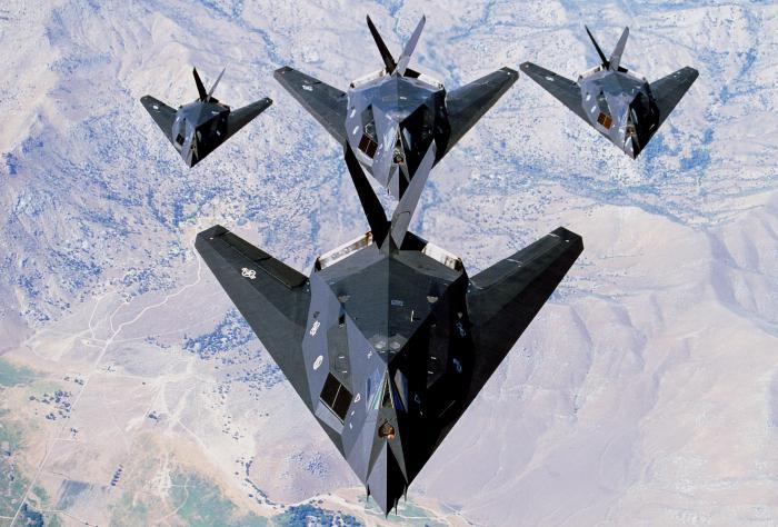 стелс самолет характеристики