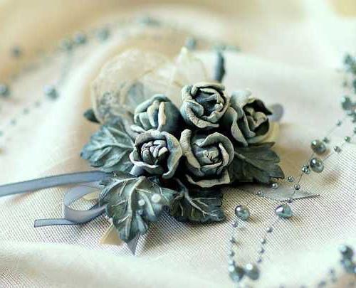 цветы из кожи своими руками мастер класс