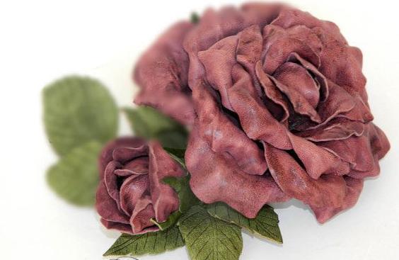 Цветок своими руками из ваты 7