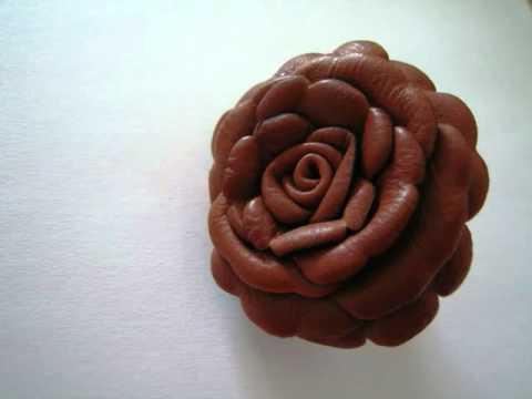 мк цветы из кожи своими руками