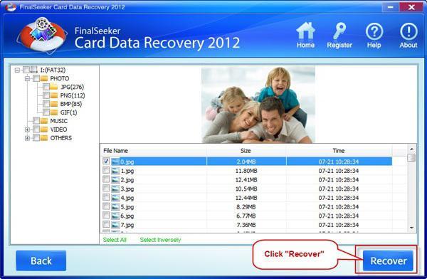 восстановление карт sd: