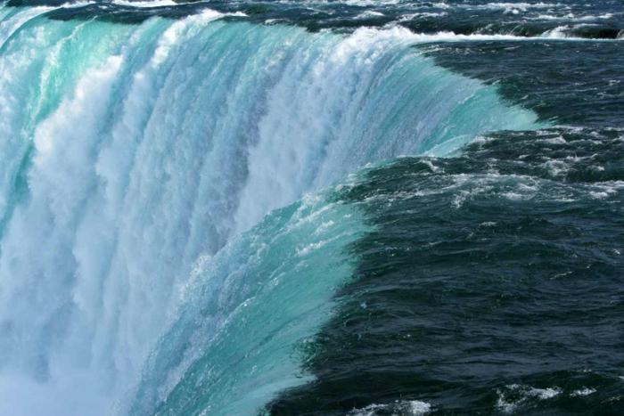niagara falls formed on the niagara river