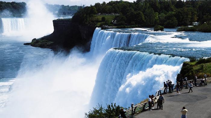 Водопад Ниагара: описание, фото, где находится