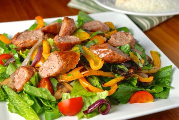 Простые овощные салаты на каждый день