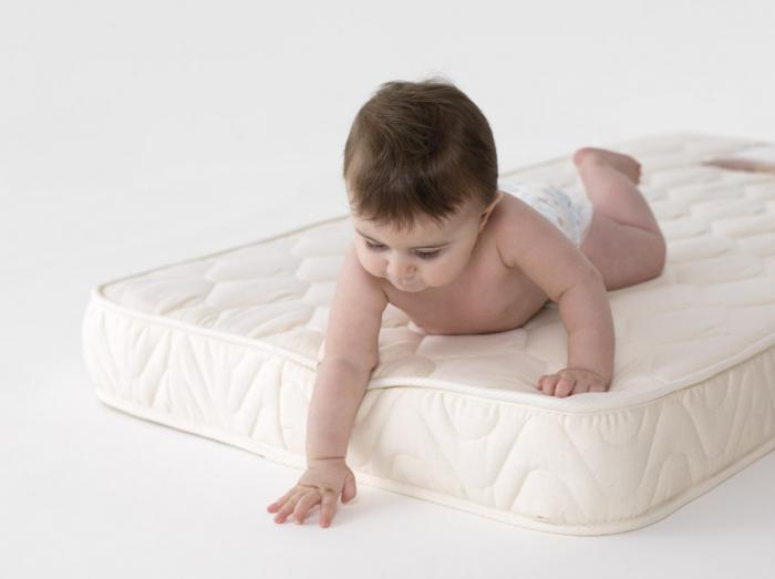 детские матрасы в кроватку для новорожденных