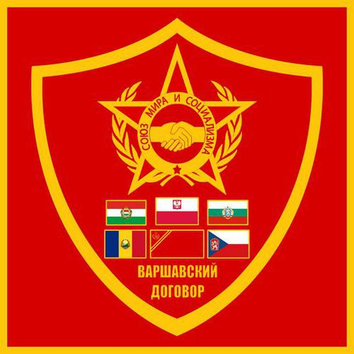 organization of the Warsaw Pact